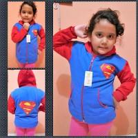 Jaket Anak SD Motif Superman