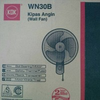 KIPAS ANGIN DINDING GANTUNG KDK / WALL FAN KDK WN30B
