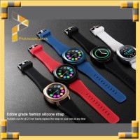 Microwear L2 Smart Watch Smartwatch L2 like Samsung Gear 3 Merah