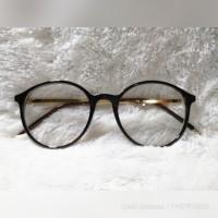 Kacamata Minus Hitam Dior Free Lensa Essilor GIA