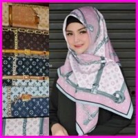 Harga Jilbab Velvet Square Travelbon.com