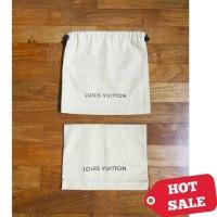LV Louis Vuitton Original dustbag wallet dust bag cover dompet