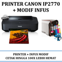 Canon printer ip2770 / Printer Canon IP2770 IP 2770 Inkjet + INFUS