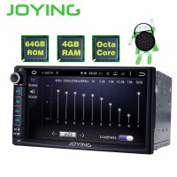 JOYING 7 inch Car Head Unit Android 8.1 double din 4GB 64GB Video Out