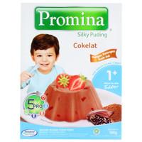 PROMINA SILKY PUDING PUDDING COKELAT COKLAT CHOCOLATE INSTANT MAKANAN