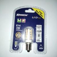 Lampu LED 3000 k warna kuning E14 3 watt