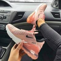Sepatu Nike Airmax 270 Coral Pink Premium Casual Sneakers Wanita Woman