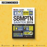 THE KING BEDAH KISI-KISI SBMPTN SAINTEK 2019 + CD - 100% ORI