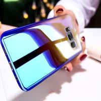 Hardcase Premium Samsung Galaxy S9 S8 S7 S6 Edge Plus Casing Ungu Biru