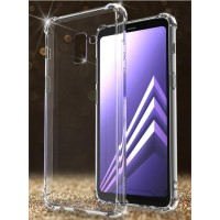 Case Samsung A8 - A8 Plus 2018 softcase casing tpu cover hp ANTI CRACK