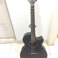 Gitar Cort SFX E BKS Second Murah
