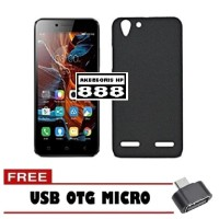 Black Matte Case for Lenovo K5 Plus / A6020 Free USB OTG Micro