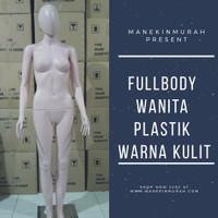 Manekin Fullbody Plastik Wanita Alien Full Body Wanita Fiber Glass