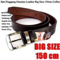 Ikat pinggang Pria Kulit Big Size 150cm coffee