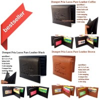 Dompet Kulit Pria Lacos Pure Leather