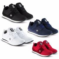 Sepatu Sneakers Kets dan Kasual Pria bisa untuk jalan kerja sekolah