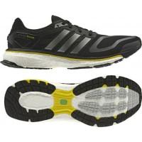 242d6d907 Sepatu Lari Original Adidas Energy Boost Core Black G64392