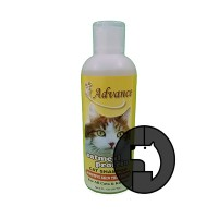 advance 8 oz (237 ml) cat oatmeal shampoo