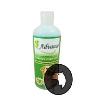 advance 17 oz (503 ml) dog herbal shampoo and conditioner