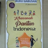 BUKU KHAZANAH PANTUN INDONESIA - P OKTAVIANAWATI wr