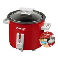Takahi 0.3 L Mini Electric Rice Cooker 1603 RED