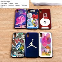 Silicon casing softcase hard glossy lenovo k4 note k5 note