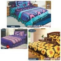 Bed Cover Set California My Love No 1 King 180 x 200 CARAMEL