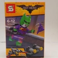 Jual Lego kw Batman Violet Costume Murah