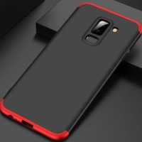 Samsung Galaxy A6 Plus 2018 Hard Case 360 GKK 3in1 Full Cover Casing