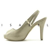 sepatu kets Isabel GISELE Sepatu Wanita Hak Tinggi Pesta Slingback