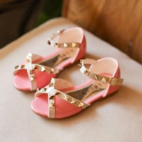 Sepatu Kets Anak Sepatu Pesta/Fashion Anak Perempuan Valentino Stud
