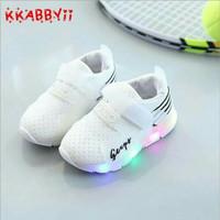Sepatu Anak Sport Lampu LED