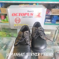 OX301 OCTOPUS SEPATU SAFETY INDUSTRIAL SHOES OX 301 OCTOPUS HITAM SNI