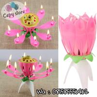 Lilin Lotus / Lilin Mekar / Lilin Bunga / Lilin