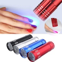 12W Lampu UV Lamp Curing Pengering Kutek Gel Nail Dryer Resin Epoxy
