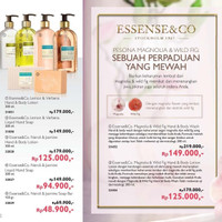 Essense&Co Neroli & Jasmine Liquid Hand Soap
