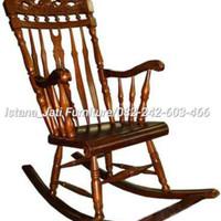 Kursi goyang santai jati(kursi,meja,nakas,bufet,figura,lemari,dipan)