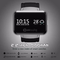 Smartwatch DM98 - GSM - Heart Rate - Android 4.4 - Silver C Smart150