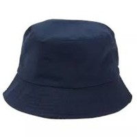topi bucket navy biru dongker polos topi bulat topi distro