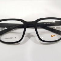 Frame kacamata Nike sport + Lensa minus anti radiasi