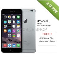 APPLE IPHONE 6 GRAY 16GB GSM GARANSI DISTRIBUT hp handphone termurah