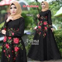 Jual Gamis dress terbaru baju muslim wanita-maxi ayana maroon Murah