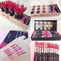 [ per 12 pc ] Pensil bibir casing hitam kiss beauty lip liner velvet