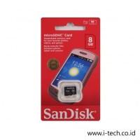 Micro SD Sandisk 8GB Class 4 Original Sandisk Resmi