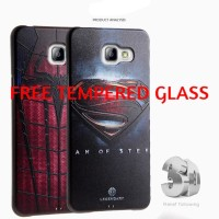 Casing Silicon Marvel 3D Samsung Galaxy A5 2017/A7 2017 Soft Case