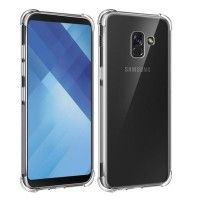 ANTI CRACK case Samsung A6 - A6 Plus 2018 softcase casing tpu cover hp