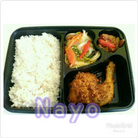 Mika bento 4 sekat / Box bento / Mika lunch box / Food container