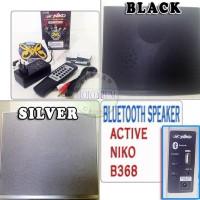 TERLARIS! B368 SPEAKER BLUETOOTH AKTIF NIKO USB FM RADIO LINE IN