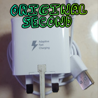 Charger Samsung Original S7 Fast Charging Bawaan hp.100% Ori (Second)