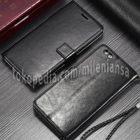 Flip Cover PU Leather Slot Card Standing Cover Case Casing HP Vivo Y65
